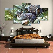 Wuwenw Malerei Abstrakte Kunst Wandbild Für
