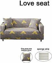 WUYANES Bezug Sofa Elastische Chaiselongue Modell