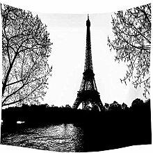 wuyue-Gebäudewandteppich Paris Turm Loch Hippie