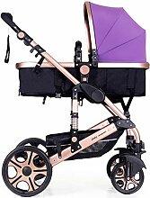 WUZHI 3 In 1 Kinderwagen Kinderwagen