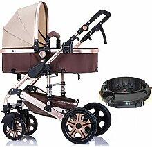 WUZHI Kinderwagen 3 In 1 Kinderwagen
