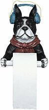 WuZhong W Toilettenpapierhalter, Tier Dekoration
