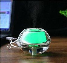 WW Kristall Nachtlicht Luftbefeuchter Usb Mini Luftbefeuchter Hause Mini Luftbefeuchter Luftreinigung Luftbefeuchter,Grün