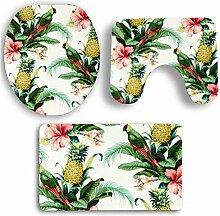 WWDDVH Blume Blatt Frisches Badezimmer Sockel