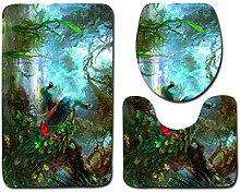 WWDDVH Unendliche Universum Raum Print Badematte