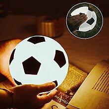 WWJ Fußball LED Schreibtischlampe USB