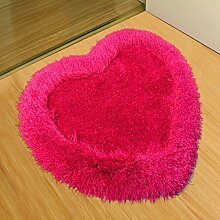 WWK BHK Stretch Baumwolle Single Herz Teppich