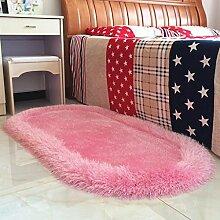 WWK BHK Stretch Seide Oval Teppich Wohnzimmer