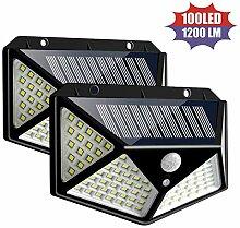 WWLONG Solar Gartenleuchte Outdoor LED Solar LED