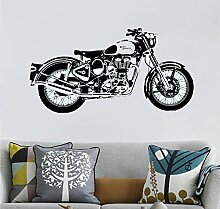 wwwff Motorrad WandkunstAufkleber