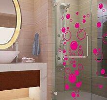 wwwff Neue Blase Wandkunst Bad Fenster Dusche