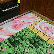 wwww Fußmatten Küchenteppich für Innen- und