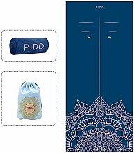wwww Pido Yoga-Handtuch, rutschfest,