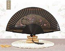 WWZEMLK Chinesischer Bambusventilator