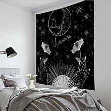 WWZEMLK Tarot-Karte Teppich Wandbehang Astrologie