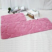 WXDD Badezimmer Teppich, Bett, Kissen, Sofakissen,