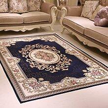 WXDD Europäische Wohnzimmer Teppich, Fußmatte,