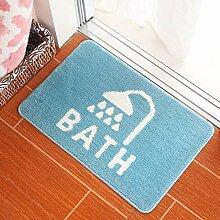 WXDD Fußmatten Badezimmer, Badteppich, Fußmatte,