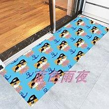 WXDD Fußmatten Badezimmer, Küche, Treppenhaus,