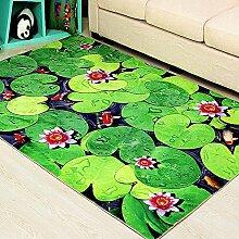 WXDD Fußmatten Moderner 3D-Kinder-Teppich für