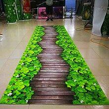 WXDD Fußmatten Teppich kann auf 3D-Fußmatte,