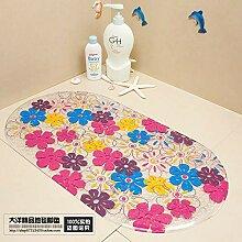 WXDD Fußmatten Waschbare Duschkabine aus