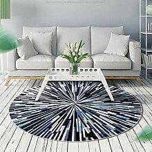 WXDD Nordic, rund, Wohnzimmer, Tee- Tisch Teppich,