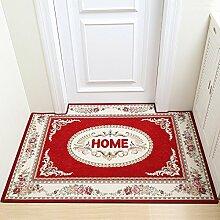 WXDD Tür-zu-Tür Matte, Fußmatte, Fußmatte,