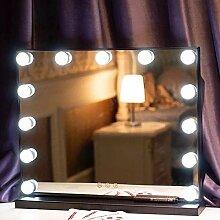 WXF Hollywood beleuchteter Kosmetikspiegel mit