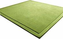 WXF Teppich Coral Fleece Carpet, Kinder krabbeln