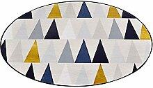 WXF Teppich Runder Teppich, geometrische Figuren