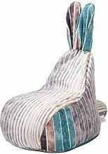 WXFN Sitzsack Sofabezug - Ohne Füllung - Sitzsack
