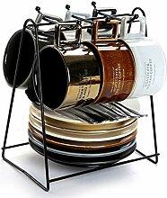 WXH Italienische Espressotasse Und Untertasse Set