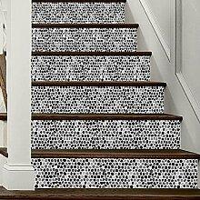 WXHCW 3D Treppe Aufkleber DIY Dreidimensionale