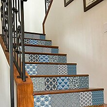 WXHCW 3D Treppe Aufkleber Fliesen DIY