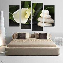 WXHYW Neue Ungerahmt 4 stück Moderne Calla Blume