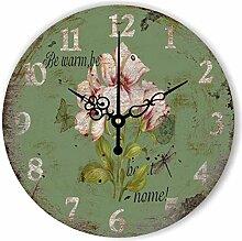 WXIN Uhr Römische Ziffern Design Home Dekoration
