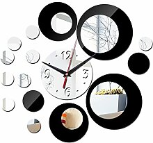 WXIN Wanduhr Acryl Uhren Quarz Uhr DIY Aufkleber