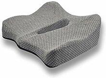 WXMYOZR Rollstuhl-Sitzkissen Anti-Dekubitus-Kissen