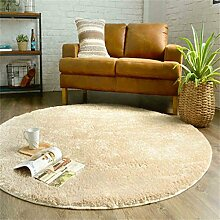 WXP-Teppiche und Decken / Teppiche Modern Simplicity Round Teppich Wohnzimmer Couchtisch Schlafzimmer Teppich Kind Zelt Korb Stuhl Matten Dicker Hausteppich-WXP ( größe : Diameter 160cm )