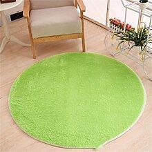 WXP-Teppiche und Decken / Teppiche Runde Teppich Koralle Samt Zelt Teppich Korb Stuhl Rutschfester Teppich Hausteppich-WXP ( Farbe : #15 , größe : Diameter 80cm )