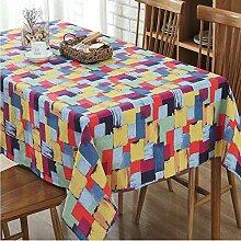 WXQQ Tisch Tischdecke leicht zu mehreren Farben zu