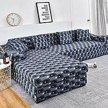 WXQY Geometrische Sofabezug Wohnzimmer rutschfeste