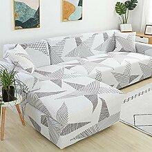 WXQY L-förmiges Sofa muss 2 Stück Sofabezug,