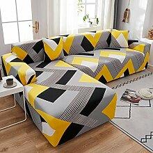 WXQY Stretch Sofabezug Wohnzimmer dicht gewickelt