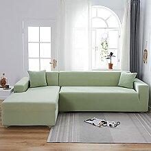 WXQY Wohnzimmer einfarbig L-förmige Ecksofa