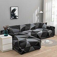 WXQY Wohnzimmer elastische L-förmige Sofa