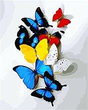 Wxswz Bild Schmetterling DIY Gemälde Nach Zahlen