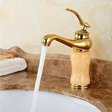 WXX Wasserhahn Gold Finish Waschbecken Einhebel
