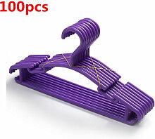 Wyctin - 100 Stück Kunststoff Kinderkleiderbügel